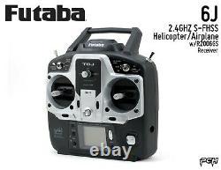 FUTABA 6J 2.4GHz S-FHSS Helicopter/Airplane Radio System withR2006GS FUTK6000