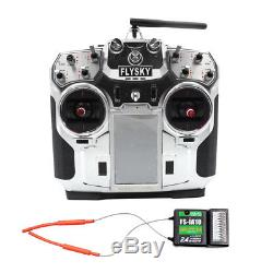 Flysky FS-I10 2.4G 10CH Radio System RC Drone Transmitter with iA10B Receiver