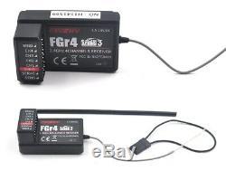 Flysky NB4 Nobel 2.4GHz 4CH Remote Control Radio Transmitter 2x FGR4 Receiver