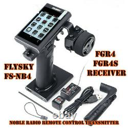For RC Model Flysky FS-NB4 2.4G 4CH Noble Radio Screen Transmitter With Receiver