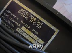 Four USGI TRC-3A Seismic Intrusion Transmitters, 127.4 Mhz, No receiver, VG Cond