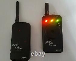 Fox txr wireless bite alarm transmitter receiver set with 2.5mm cables