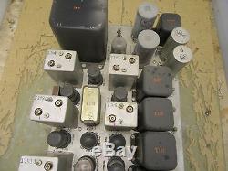 Fred M Link CFL-43059 FM radio transmitter/receiver nxsr-48343 WWII Navy 3F-17