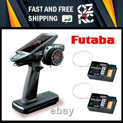 Futaba 7PXR 7-Channel 2.4GHz T-FHSS Telemetry Radio With 2x R334SBS Receivers