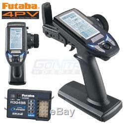 Futaba FUTK4700 4PV 4-Ch T-FHSS Computer Radio Transmitter with R304SB Receiver