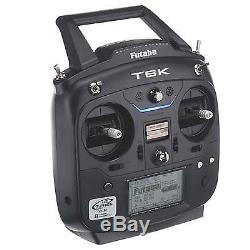 Futaba FUTK6111 6K V2 8-Channel FPV T-FHSS Radio Transmitter /R3001SB Receiver