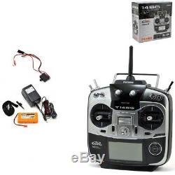 Futaba FUTK9410 14SGA 2.4GHz 14-Channel Airplane Radio System WithO Receiver