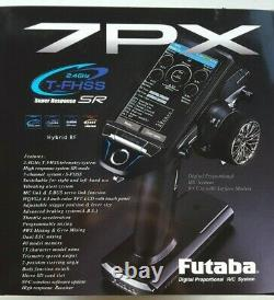 Futaba T7PX 7 CH 2.4GHz T-FHSS Telemetry Surface Radio System with Receiver