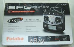 Futaba T8FG SUPER Radio Control System Transmitter/Receiver/Charger