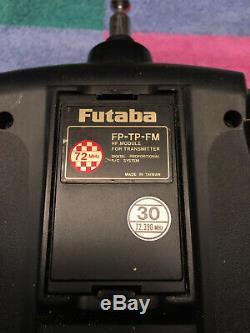 Futaba T9CAP Super 72MHz R/C Transmitter Radio, 7 receivers, 5 Ch. 30 crystals