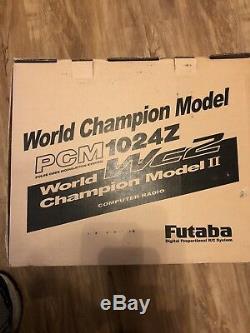 Futaba Vintage RC Remote Control 72.470 mhz Radio Transmitter & Receiver