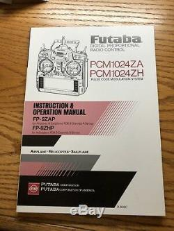 Futaba vntg RC remote control 72.470 mhz radio transmitter and receiver