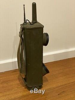 Galvin BC-611 WWII Radio Receiver Transmitter Handie Talkie + Rare Loop Aerial