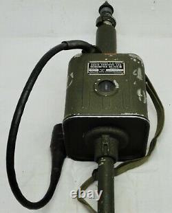Galvin BC-745-B SCR-511 Transmitter Receiver Pogo Stick Radio WW2 Signal Corps