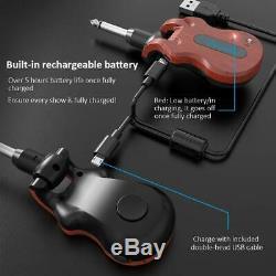 Gitarren Transmitter Wireless Sender Empfänger Receiver System Audi Bass Digital