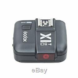 Godox X1C HSS 2.4G TTL Wireless Flash Trigger transmitte+3 Receivers f canon EOS