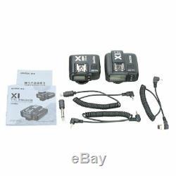 Godox X1T-N 2.4G i-TTL 1/8000 Wireless Transmitter Trigger+ 2 Receiver F Nikon