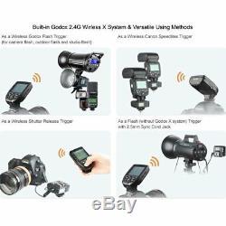 Godox XPro-C 2.4G TCM Transmitter X1R-C Receiver For Canon 5D 6D 7D 70D 80D 800D