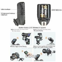 Godox XPro-C 2.4G TTL TCM Transmitter X1R-C Receiver For Canon Speedlite 7D 70D