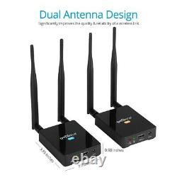 Gofanco 328ft (100m) Wireless HDMI Extender Transmitter and Receiver