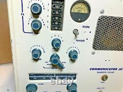 Gonset Communicator III Transmitter Receiver 2m Ham Radio Equipment