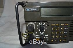 HARRIS RF 5000 HAM RADIO RECEIVER TRANSMITTER TRANSCEIVER With5010FP FRONT PANEL