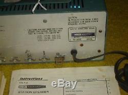 HEATHKIT HR-1680 SSB/CW RECEIVER +manual +SPEAKER from HAM RADIO ESTATE TESTED