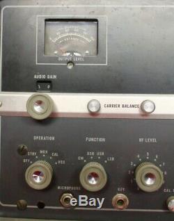 Hallicrafters Co. Model HT-37 Transmitter Exciter / Ham Radio Equipment