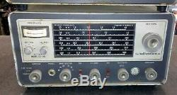 Hallicrafters HT-40 and SX-140 Ham Radio Rig Vintage Transmitter Receiver