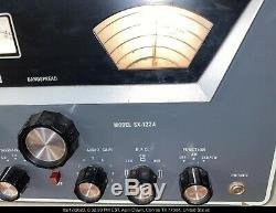 Hallicrafters Radio Receiver Ham Sx-122a Tested Excellent All Band Shortwave
