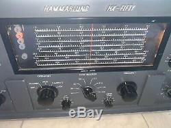Hammarlund HX-Fifty HX-50 Ham Radio Transmitter. Very nice physical condition