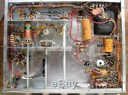 Heathkit Dx-60a Amateur Ham Radio Transmitter 80-10 Meter Tested Works Xtra Nice
