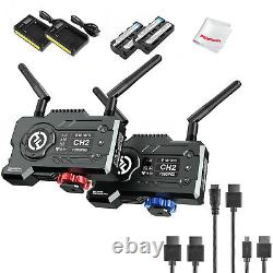 Hollyland Mars 400S Pro 5G Wireless Video Audio Transmitter Receiver 400ft+Cable