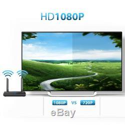 InstaBox 2.4/5.0GHz AV TV Sender Transmitter Receiver Wireless HDMI Video Audio