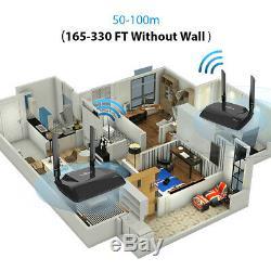 InstaBox 2.4/5.0GHz HDMI TV Wireless Audio Video AV Sender Transmitter Receiver