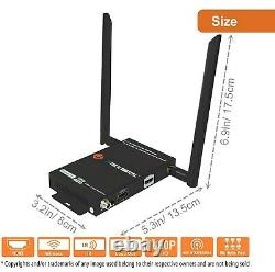 J-Tech Digital 1X2 Wireless HDMI Extender Loop Output IR(Receiver + Transmitter)