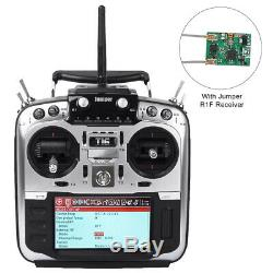Jumper T16 Pro Hall V2 Radio Transmitter Hall Gimbal 2.4G 16CH with R1F Receiver