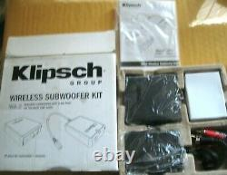 Klipsch WA-2 Wireless Subwoofer Kit TRANSMITTER and RECEIVER BRAND NEW in BOX