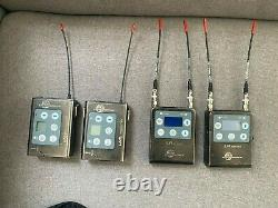 Lectrosonic LmB LR wireless Lavalier Receiver and transmitter package, Good