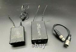 Lectrosonics Block 21 UCR201 receiver / UM250C Transmitter Wireless Mic System