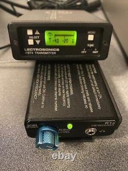 Lectrosonics IFBT4 IFB Transmitter and R1a receiver Block 22 563.2 588.7 MHz