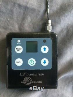 Lectrosonics L Series, LR Receiver/LT Transmitter (B1 537.600 614.375 MHz)