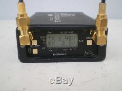 Lectrosonics SM Transmitter UCR401 Receiver /SMA antenna Bl 27 Lav Mic Batteries