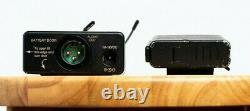 Lectrosonics UCR201+ UM200C Wireless Professional Mic Transmitter + Receiver
