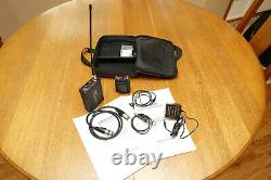 Lectrosonics Wireless Microphone UCR195 Receiver 195B Transmitter Lavalier mic