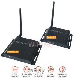 Long Range Wireless 5.8Ghz HDMI AV Transmitter Receiver Max Range 330FT 100M