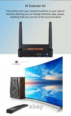 MEASY FHD656 MINI WIRELESS HDMI transmitter and receiver