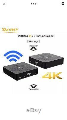 MEASY W2H 4K Wireless 30m HDMI Extender Transmitter Receiver HD Video Audio TV