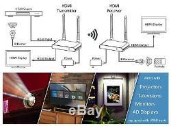 Micca Wireless HDMI Extender 1080P 330ft Long Range 5GHz Transmitter & Receiver