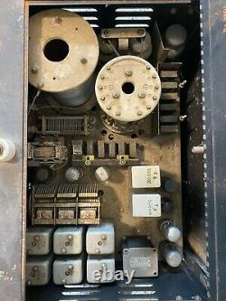 Military SCR-543 BC 669 Transmitter and Receiver made by Hallicrafters